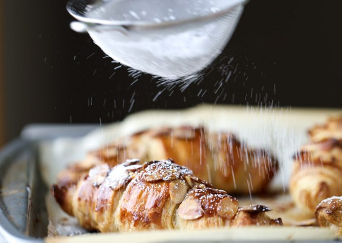 how to make croissants with butter puff pastry