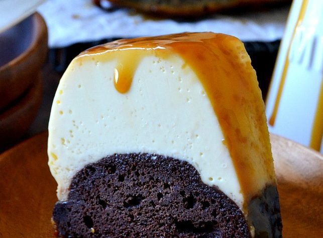 Easy Homemade Chocolate Flan Cake