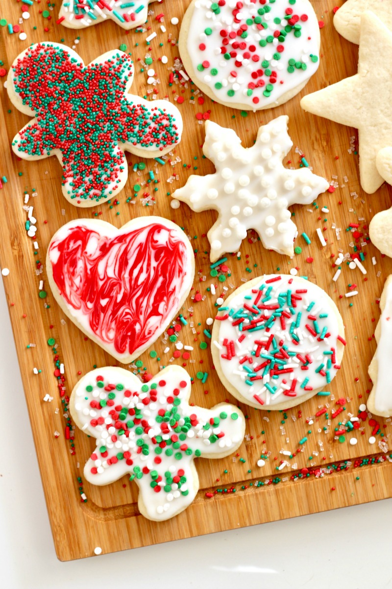 Easy No Chill Cut Out Sugar Cookies
