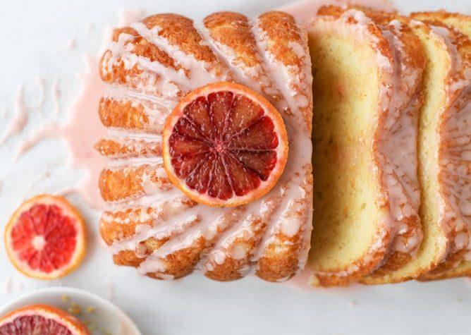 Orange Yogurt Loaf Cake Recipe