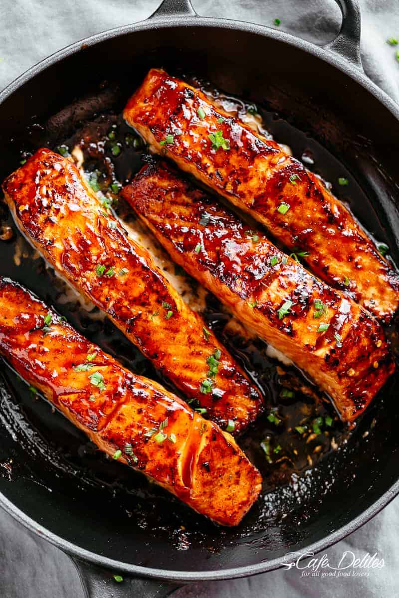 Firecracker Salmon Recipe Cafe Delites Thedirtygyro
