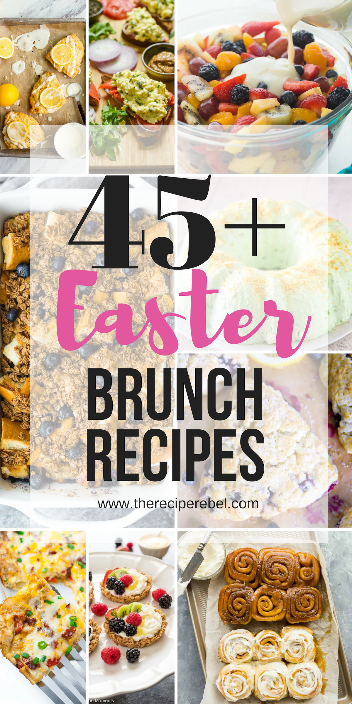45+ Easter Brunch Ideas (sweet and savory!)