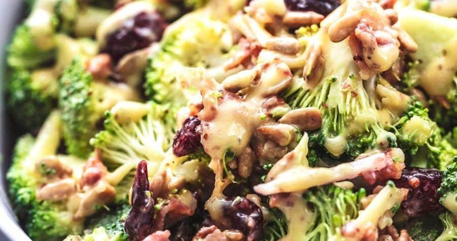 Best Broccoli Salad Recipe No Mayo Thedirtygyro